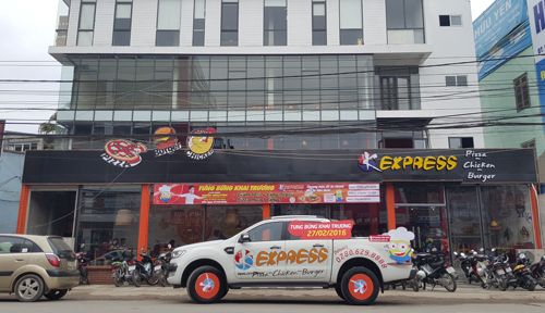 Khai trương nhà hàng ăn nhanh tại Thái Nguyên