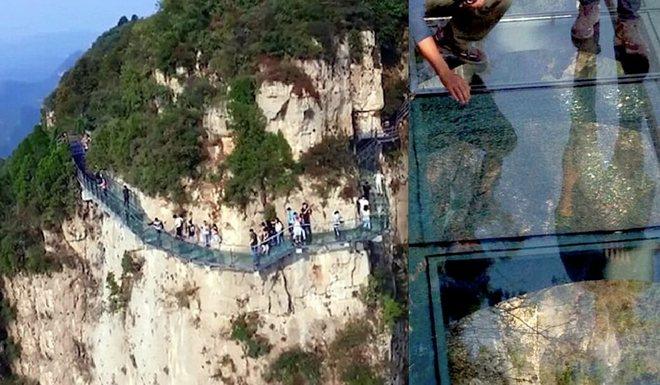 Những cây cầu kính khiến du khách 'tim đập chân run' ở Trung Quốc