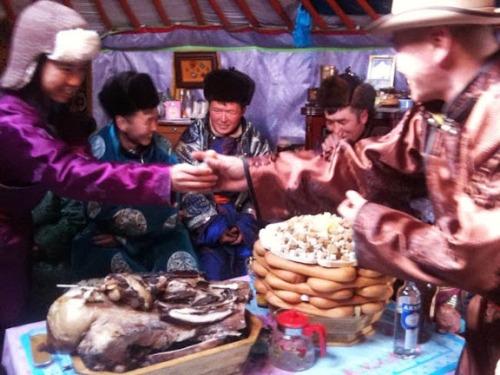 Tết cổ truyền của người Mông Cổ
