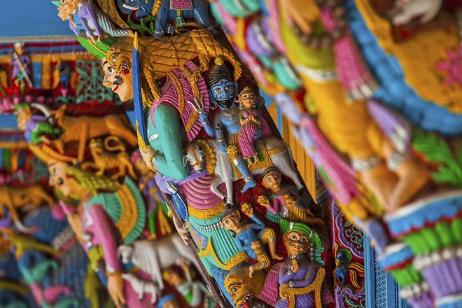 Những sắc màu Ấn Độ cuốn hút du khách thế giới