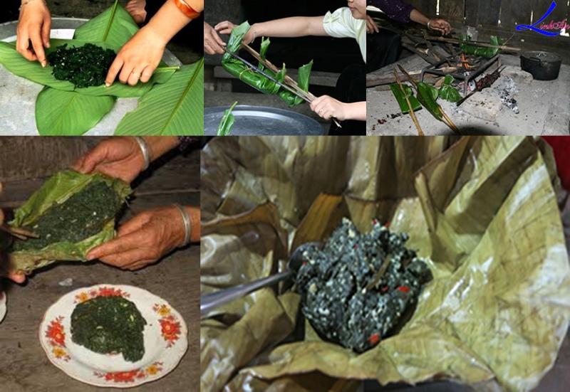 Đặc sản rêu đá của người Thái ở vùng Tây Bắc