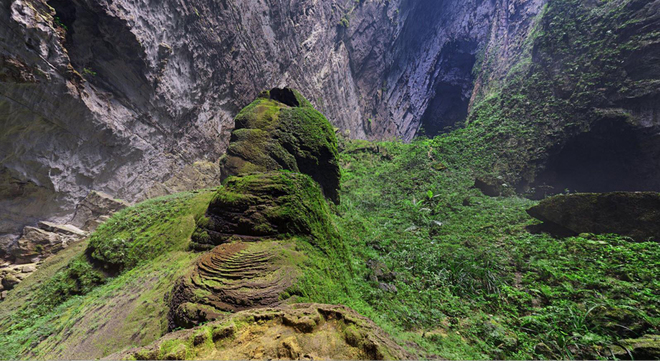Hang Sơn Đoòng đẹp nguyên sơ, hùng vĩ với góc quay 360 độ