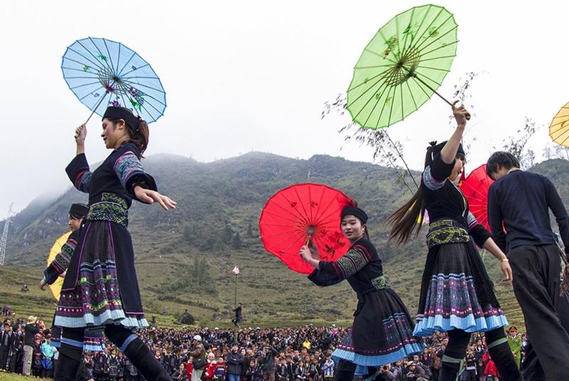 Nét văn hóa đặc trưng của cao nguyên đá Hà Giang trong phiên chợ tình Khâu Vai