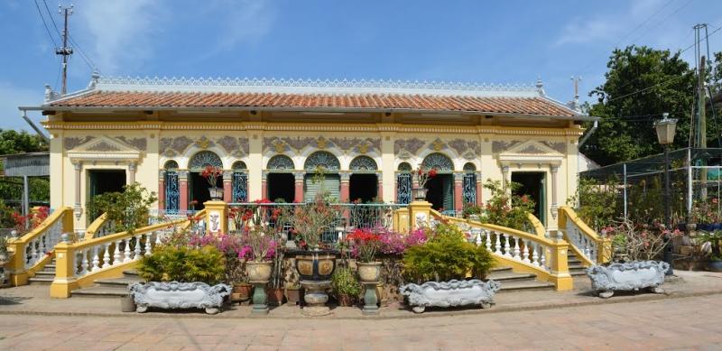 Ngắm ngôi nhà cổ đẹp nhất miền sông nước