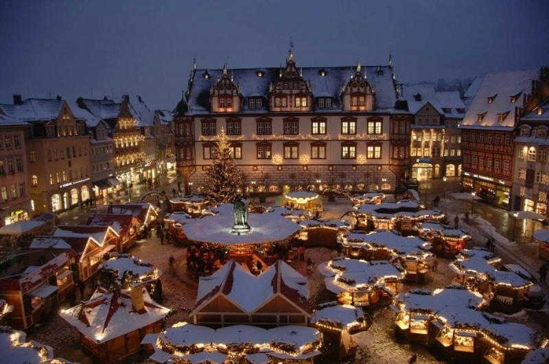 Thu hút bởi những khu chợ Giáng sinh ở Vương quốc Anh