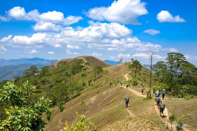 Xuyên rừng trên cung trek đẹp nhất Việt Nam