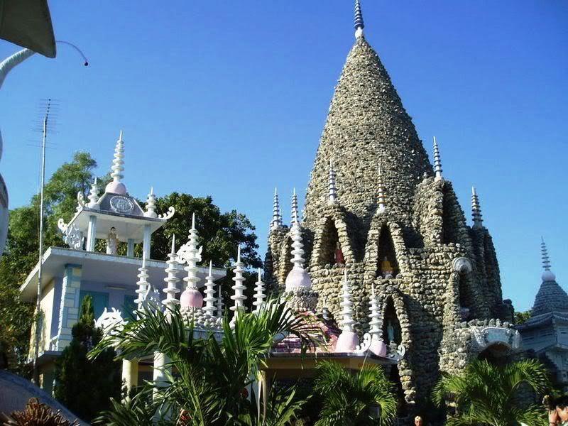 Dạo bước và chiêm ngưỡng chùa Ốc độc đáo ở Cam Ranh