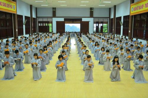 Địa chỉ cho trẻ tập tu, học làm lính gần Hà Nội