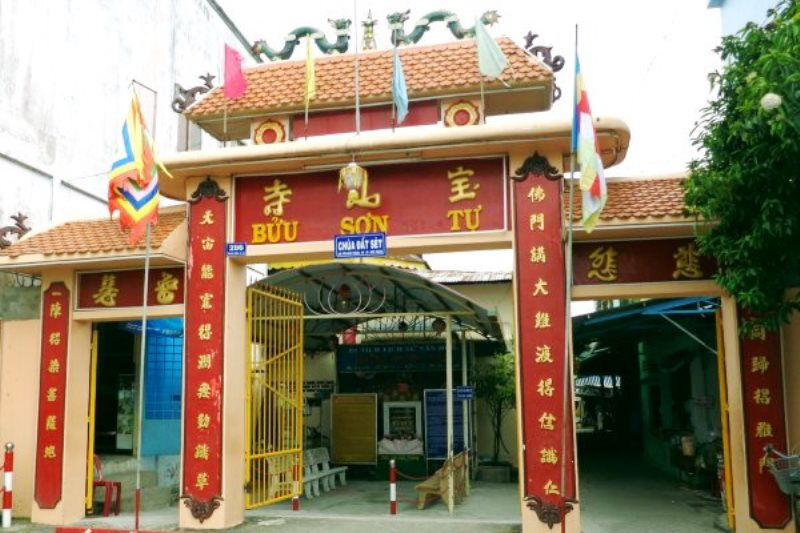 Thăm ngôi chùa Đất Sét nổi tiếng đất Sóc Trăng