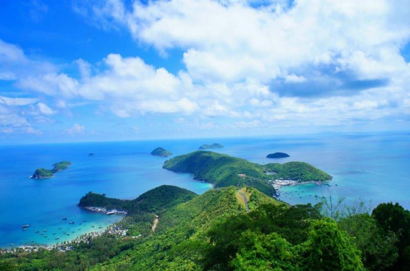 Tự do vùng vẫy giữa biển nước mây trời ở quần đảo Nam Du