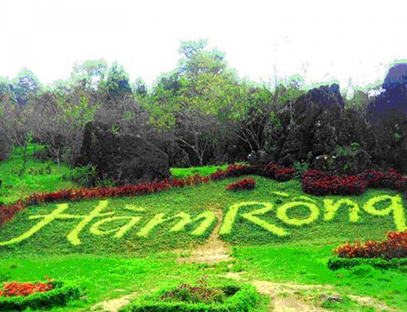 'Vườn thượng uyển' Hàm Rồng bốn mùa nở hoa