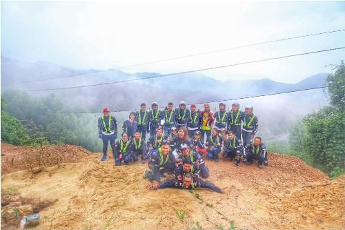 Dấu ấn khó phai trong hành trình 1.200 km phượt từ thiện