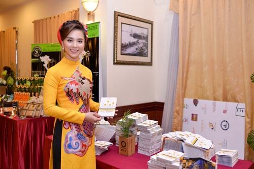 Á hậu Thiên Lý là Đại sứ truyền thông cho du lịch TP HCM