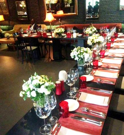 Bữa tối phong cách Âu của Tổng thống Pháp tại TP HCM