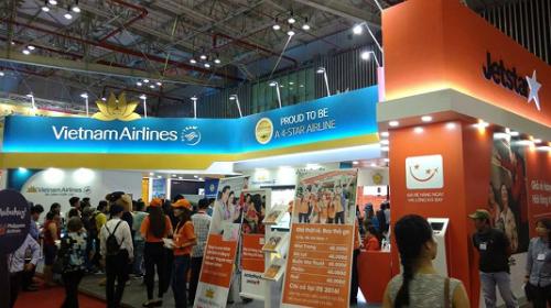 Hàng nghìn vé máy bay giá rẻ bán ở hội chợ du lịch TP HCM
