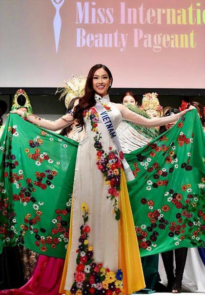 Phương Linh nhận danh hiệu Hoa hậu Đại sứ du lịch tại Nhật