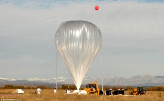 Du lịch vũ trụ bằng bóng bay khổng lồ