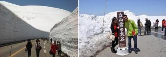 Đường tuyết ở Nhật Bản