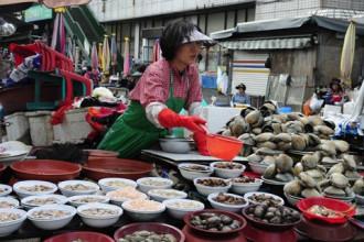 Jagalchi - khu chợ cá lớn nhất Hàn Quốc