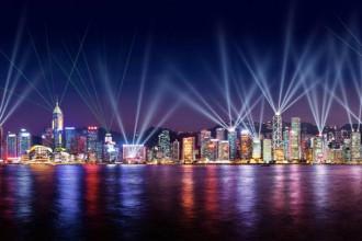 Bản giao hưởng ánh sáng ở Hong Kong