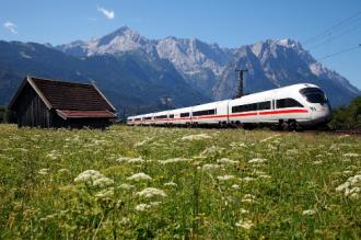 Du lịch châu Âu bằng tàu điện