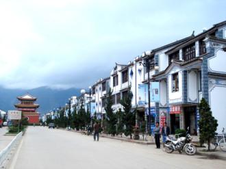 Vân Hạc trấn, thị trấn của những bức tranh tường độc đáo