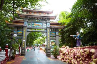 Công viênHaw Par Villakỳ quái ở Singapore