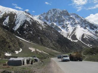 Ký ức cung đường tơ lụa ở Kyrgyzstan