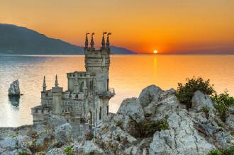 Lâu đài tình yêu Swallow's Nest