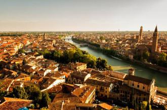 Verona, thành phố của Romeo và Juliet