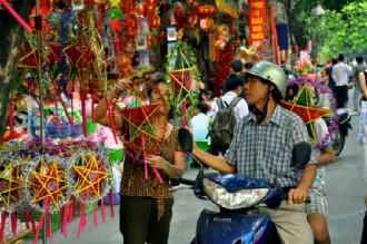 Vui tết trung thu ở Hà Nội