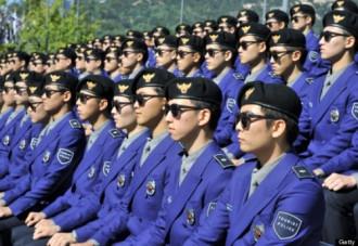 Cảnh sát du lịch Hàn Quốc diện đồng phục Gangnam Style