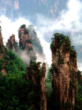 'Núi bay Avatar Hallelujah' tại Trương Gia Giới