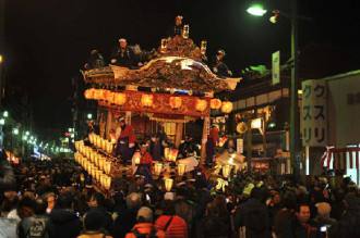 Lễ hội đêm Chichibu tại Nhật Bản