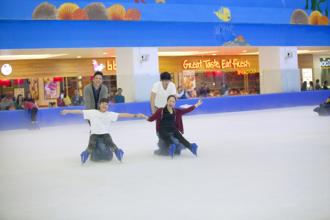 Trượt băng miễn phí tại Royal City