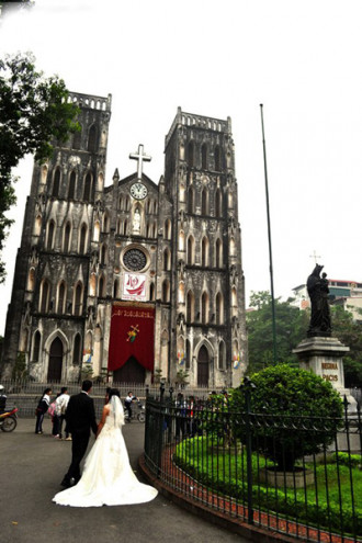 Các nhà thờ Hà Nội cho ngày lễ Giáng Sinh