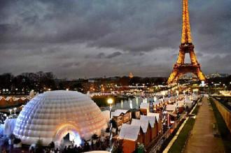 Các phiên chợ Giáng sinh ở Paris