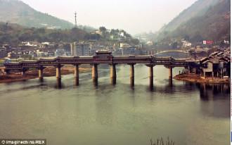 Feng Yu, cầu gỗ có mái dài nhất châu Á