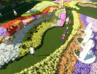 Nhiều chương trình đặc sắc tại Festival hoa Đà Lạt 2013