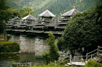 Những cây cầu mưa gió của tộc Đồng, Trung Quốc