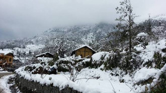 Vẻ đẹp cổ tích ngày Sapa phủ tuyết