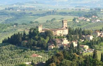Lâu đài của dòng họ Guicciardini ở Tuscany