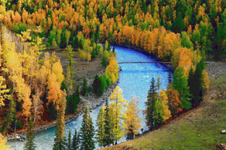 Vẻ đẹp hút hồn của khu bảo tồn thiên nhiên Kanas