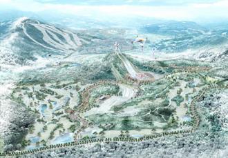 Đến nơi diễn ra Thế vận hội mùa đông 2018