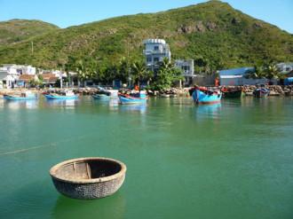 Làng chài Hải Minh yên bình ở Quy Nhơn
