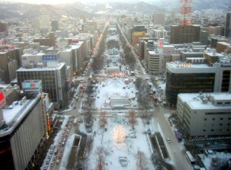 Tưng bừng lễ hội tuyết tại Sapporo