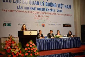 Ra mắt câu lạc bộ quản lý buồng Việt Nam