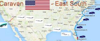 Vòng quanh nước Mỹ bằng xe ôtô tự lái