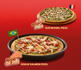 Đặc sản Việt trong vị Pizza Italy