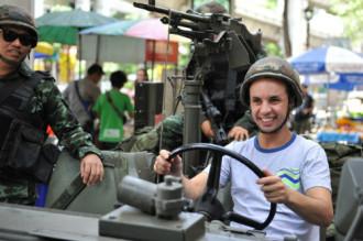 Du lịch Thái vẫn nhộn nhịp bất chấp đảo chính